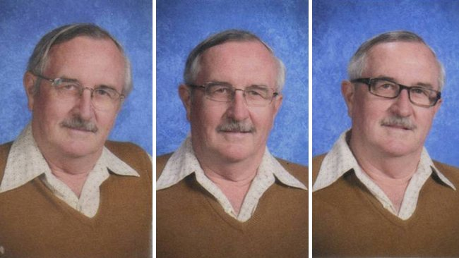 techer wears same yearbook photo outfit for 40 years (4)