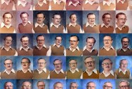 Teacher Wears Same Outfit in 40 Consecutive Yearbook Photos