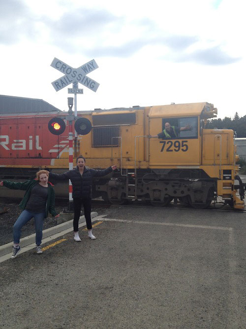 train conductor photo bomb The Shirk Report   Volume 221