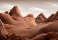 Landscape Photos Created with the Human Body