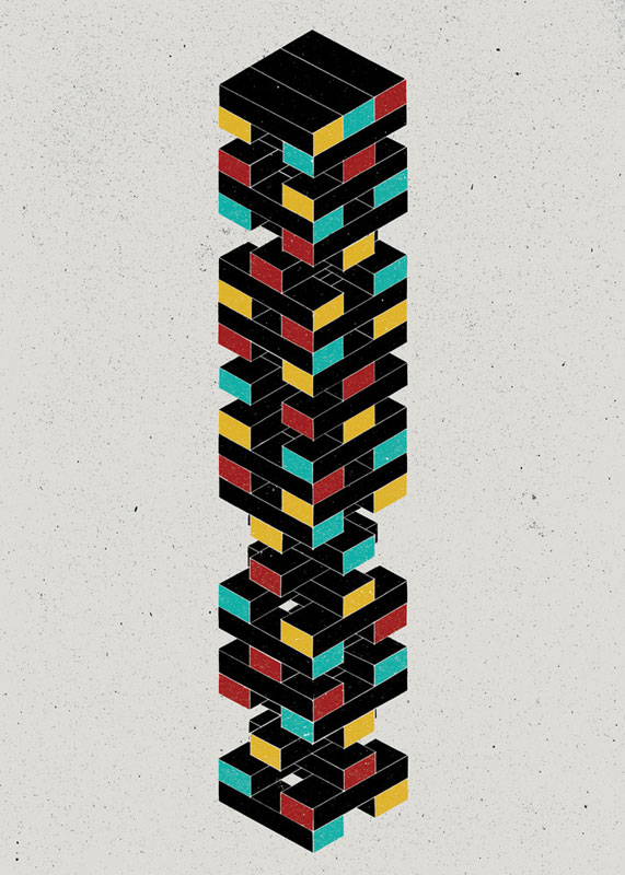 zugzwang Illustrations of Strange and Unusual Words by the project twins