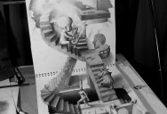 Anamorphic 3D Pencil Drawings by Fredo