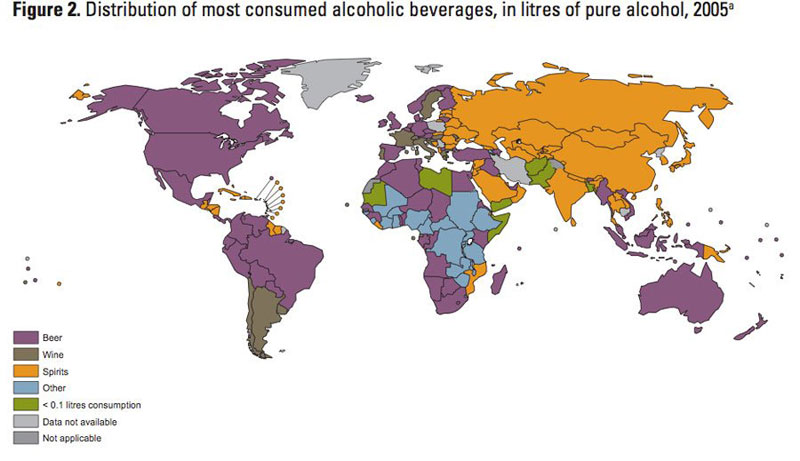 drink popularity by country 40 Maps That Will Help You Make Sense of the World