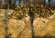 The Dry Stone Tree Wall that Love Built