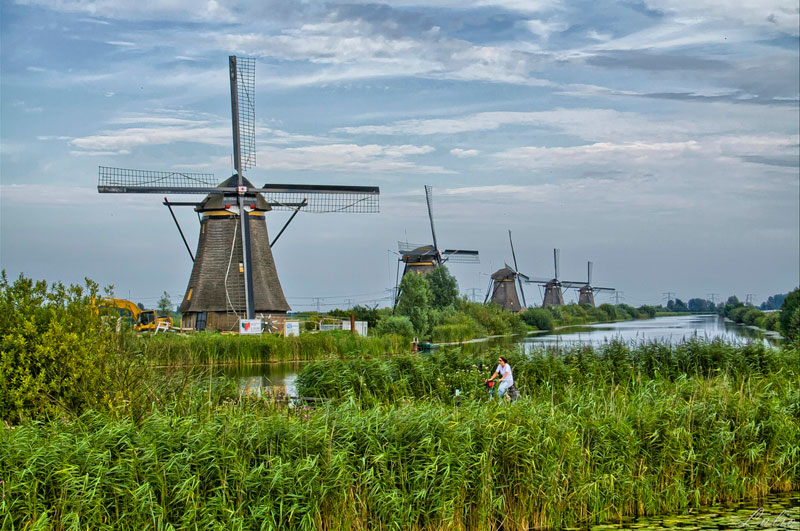 Picture of the Day: Windmills in the Netherlands