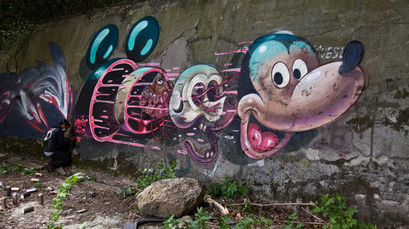exploded view street art murals by nychos (10)