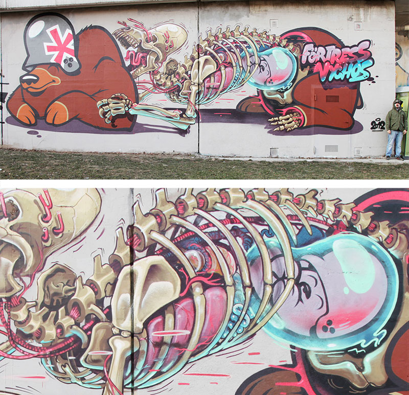 exploded view street art murals by nychos (11)