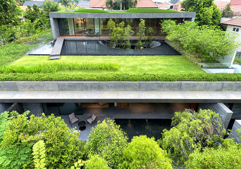 green house in the heart of the city wall house by farm singapore (8)