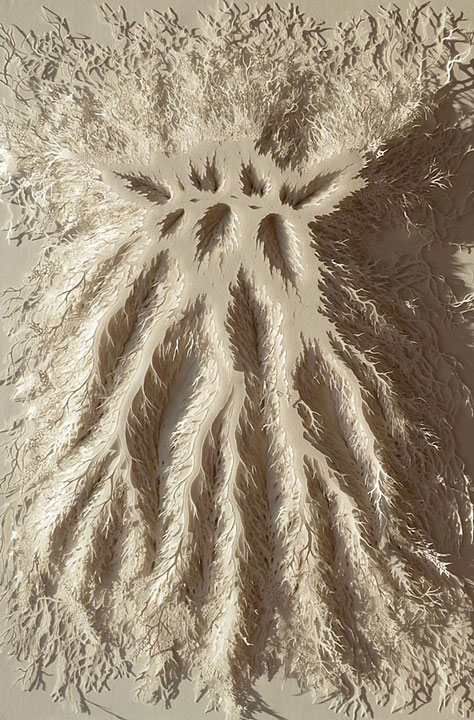 hand cut paper art rogan brown (4)