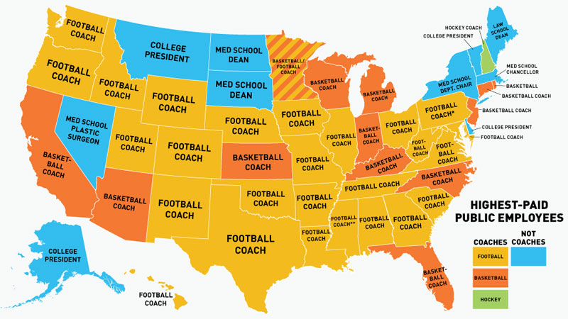 highest paid us public employees by state 40 Clever Life Hacks to Simplify your World