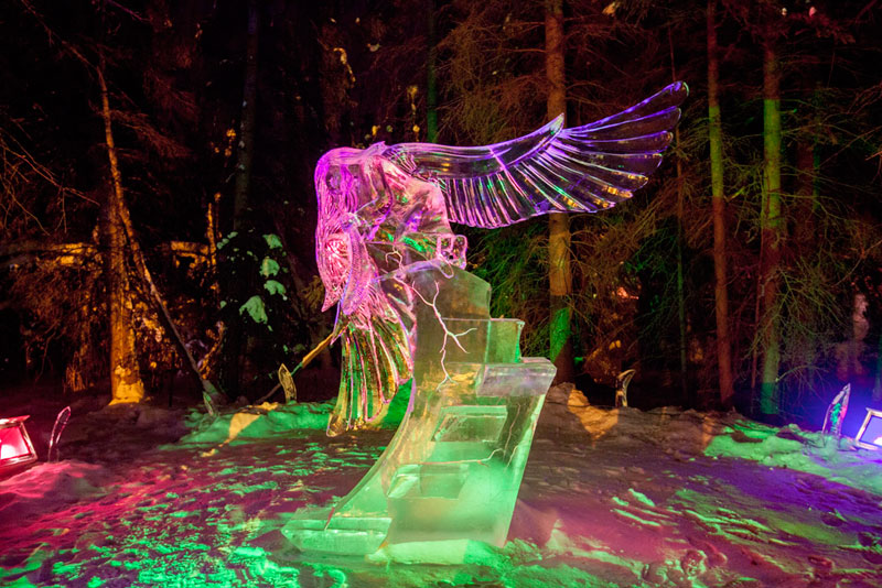ice alaska world ice art championships 2013 single block (10)