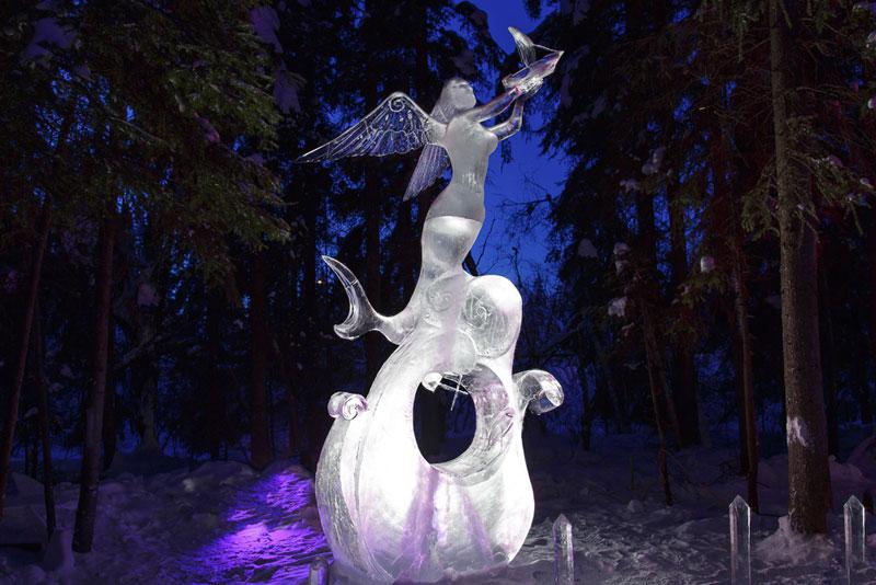 ice alaska world ice art championships 2013 single block (7)