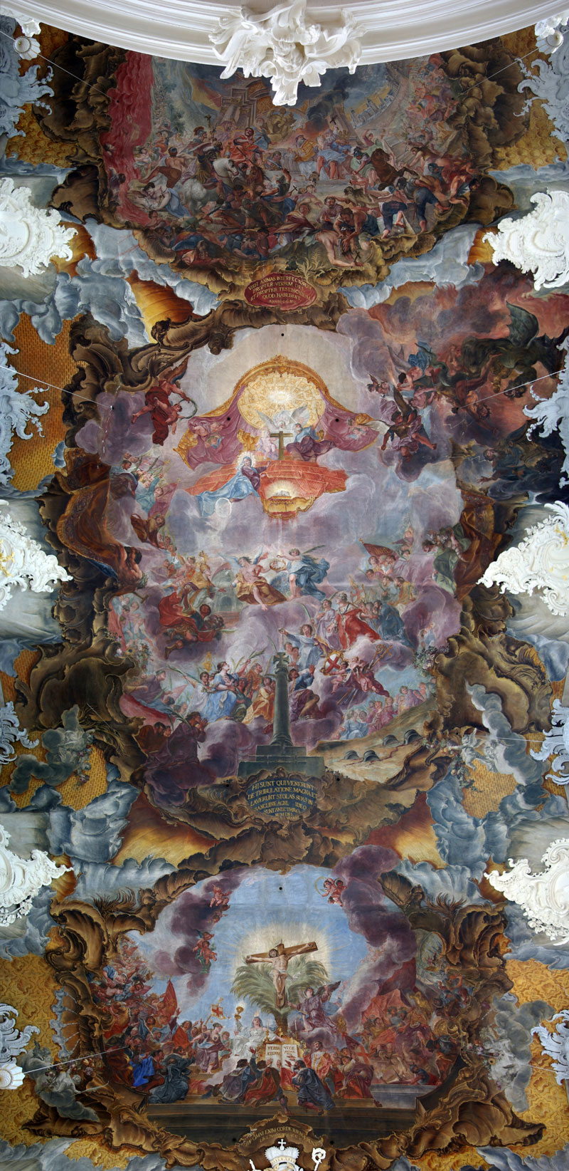 life of st paulinus fresco by christoph thomas scheffler trier germany Picture of the Day: Unreal Ceiling Fresco in Germany