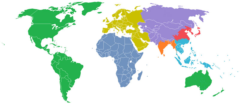 population of the world split into equal sections of one billion 40 Maps That Will Help You Make Sense of the World
