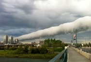 Picture of the Day: Roll Cloud Over Calgary