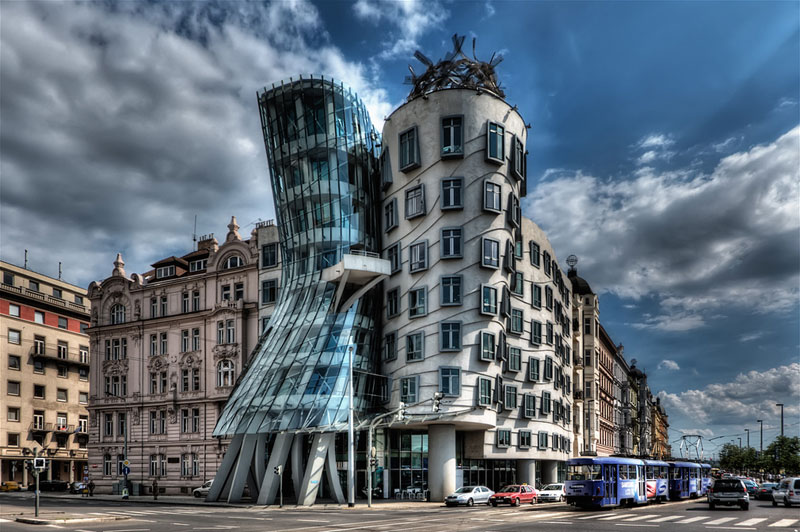the dancing house fred and ginger prague czech republic Picture of the Day: Pragues Dancing House