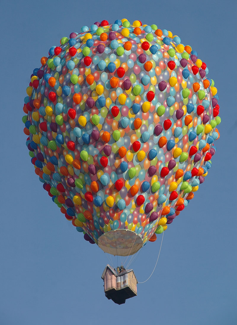 the up movie hot air balloon Picture of the Day: The Up Hot Air Balloon
