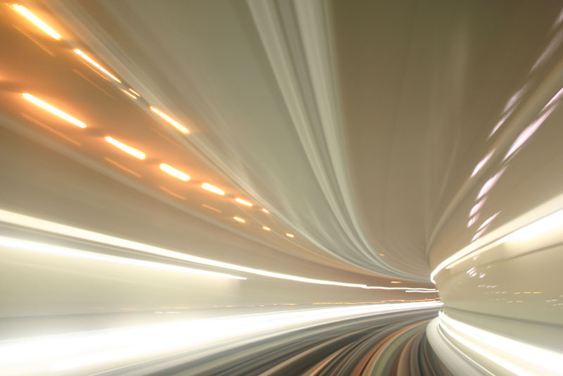 tunnel vision long exposure Picture of the Day: Tunnel Vision