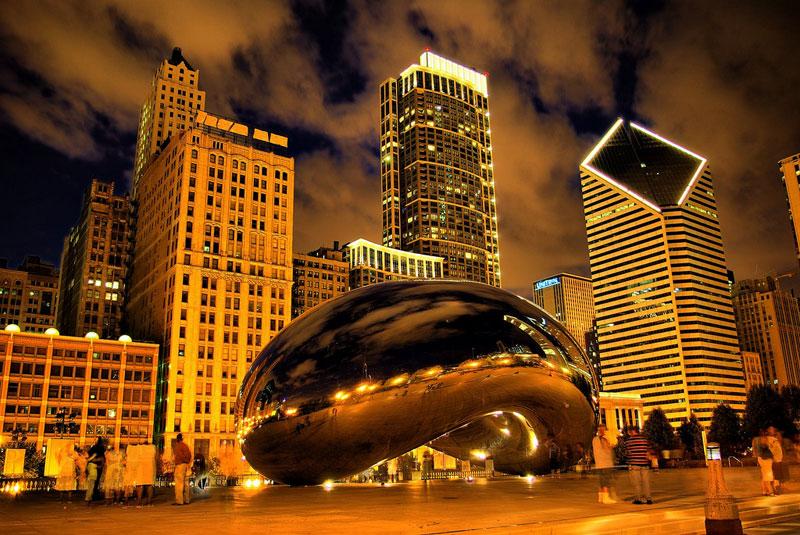cloud gate anish kapoor chicago bean sculpture (1)