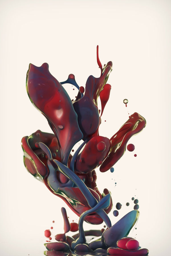 high speed photos of paint splashing into water alberto seveso (3)
