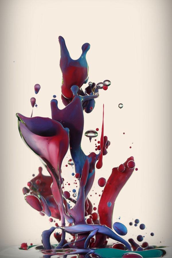 high speed photos of paint splashing into water alberto seveso (7)