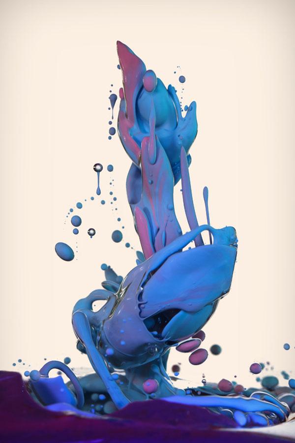 high speed photos of paint splashing into water alberto seveso (9)