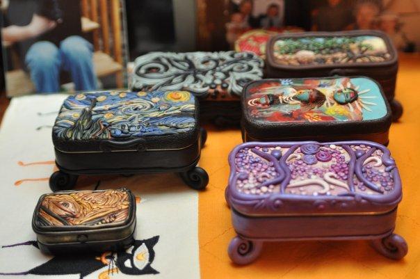 mini clay artworks on altoid tins (5)