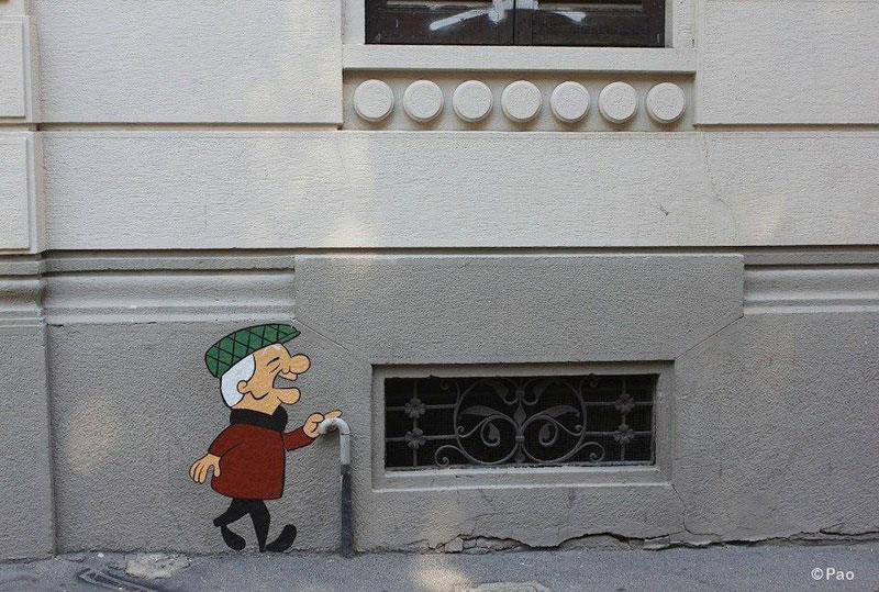 mr magoo street art by pao Picture of the Day: Oh Magoo, youve done it again
