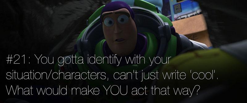 pixar's 22 rules of storytelling as image macros (22)