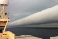 Picture of the Day: Open Water Roll Cloud