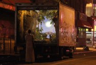 Picture of the Day: Banksy Converts a New York Delivery Truck