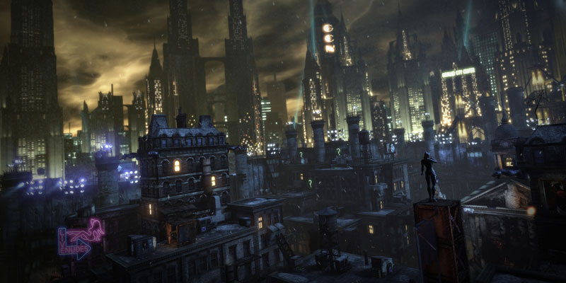 batman arkham city onahottinroof Instead of Shooting People, this Guy Plays Grand Theft Auto as a War Photographer