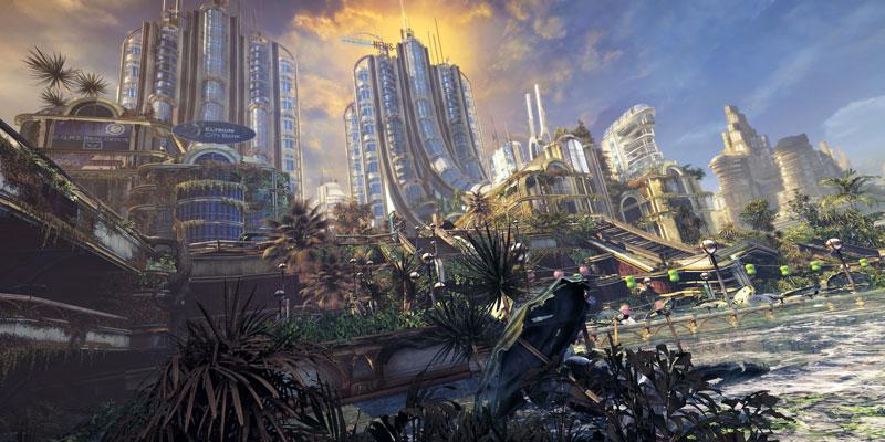 bulletstorm bluehotels 40 Cinematic Landscape Stills from Video Games