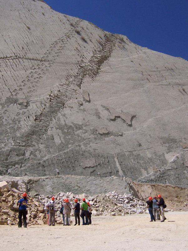 cal orko wall of dinosaur footprints sucre bolivia (6)