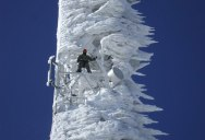 Picture of the Day: Cell Tower After Epic Snowstorm