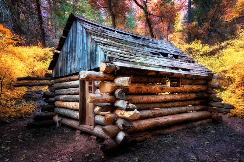 Picture of the Day: Fife Cabin, Zion National Park