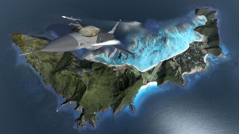 flight simulator x coast2coast 40 Cinematic Landscape Stills from Video Games