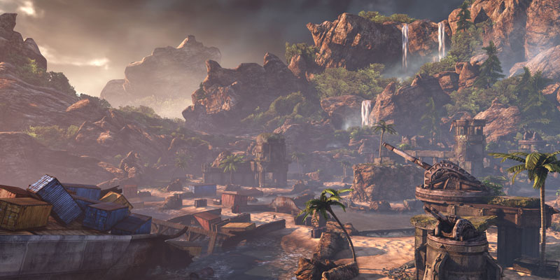 gears of war 3 lostcoast 40 Cinematic Landscape Stills from Video Games