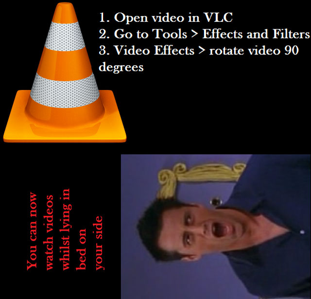 how to rotate video in vlc media player life hack 40 Clever Life Hacks to Simplify your World