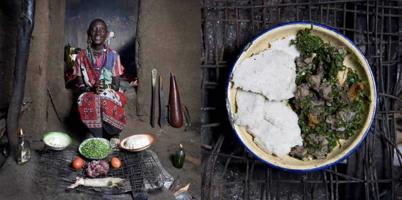 kenya grandmothers cook signature dish portraits gabriele galimberti Grandmothers Posing with their Signature Dish