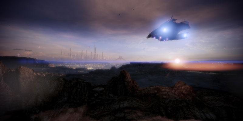 mass effect 2 inbound 40 Cinematic Landscape Stills from Video Games