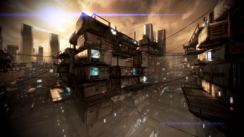 mass effect 3 spaceshanty 40 Cinematic Landscape Stills from Video Games