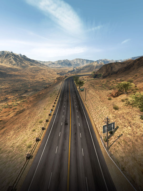 need for speed hot pursuit theinvitation 40 Cinematic Landscape Stills from Video Games