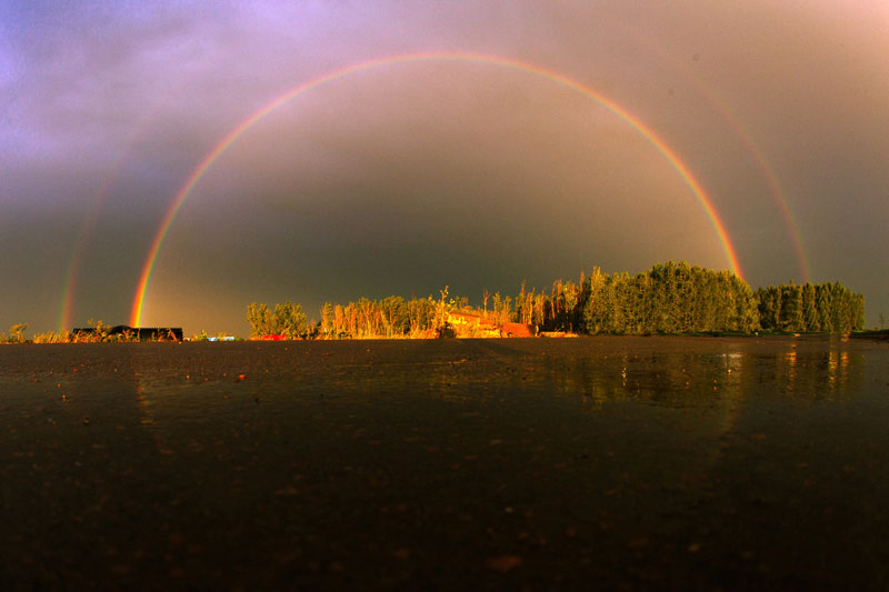 perfect double rainbow Picture of the Day: This Double Rainbow is Perfect
