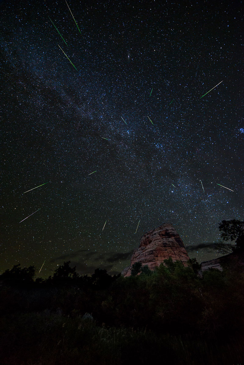 perseids meteor shower 2013 Picture of the Day: The 2013 Perseids Meteor Shower