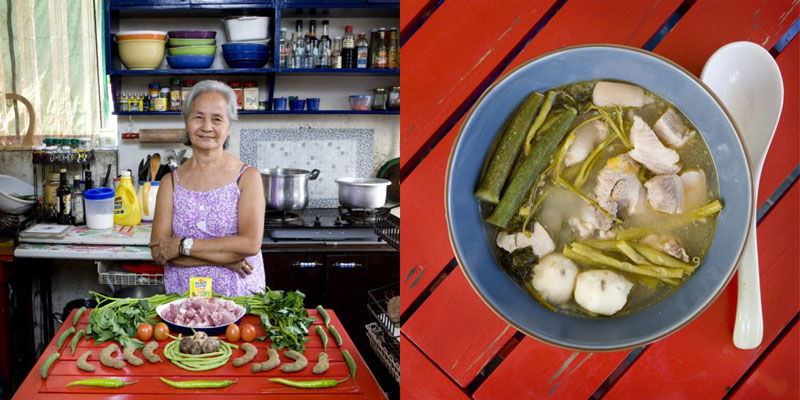 philippines grandmothers cook signature dish portraits gabriele galimberti Girlfriend Continues to Lead Photographer Around the World