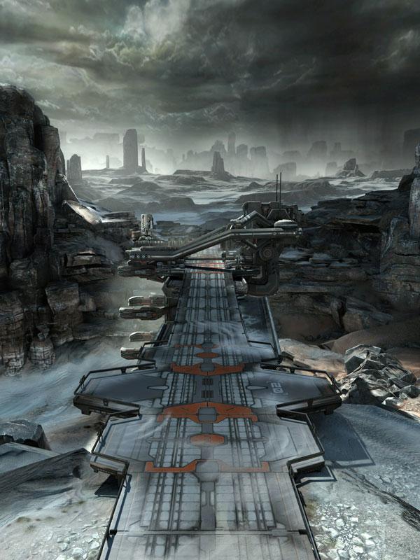 rage borderlands 40 Cinematic Landscape Stills from Video Games