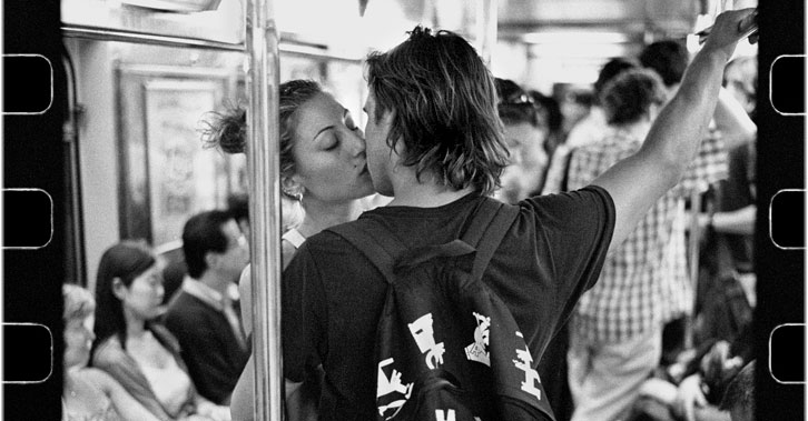 Fleeting Glimpses of Love on the New York Subway