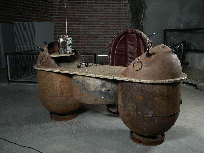 sea mines repurposed into furniture by mati karmin (12)