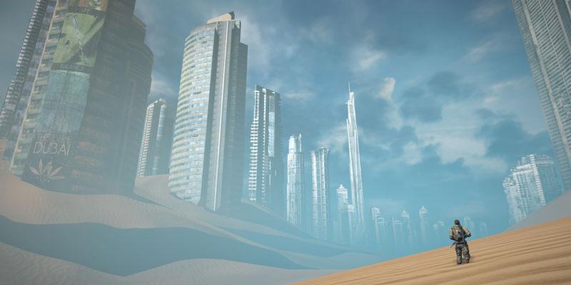 spec ops the line burialground 40 Cinematic Landscape Stills from Video Games
